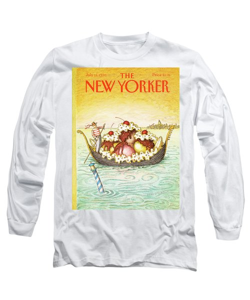 New Yorker July 16th, 1990 Long Sleeve T-Shirt