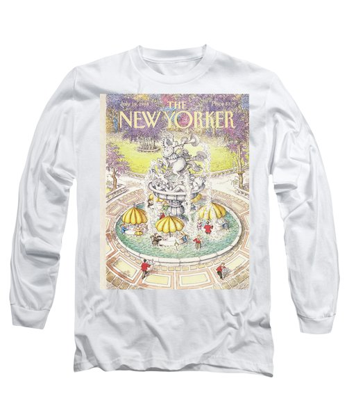New Yorker July 18th, 1988 Long Sleeve T-Shirt