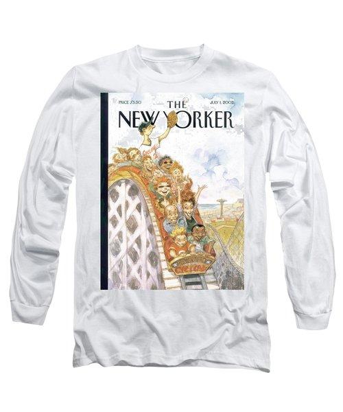 New Yorker July 1st, 2002 Long Sleeve T-Shirt