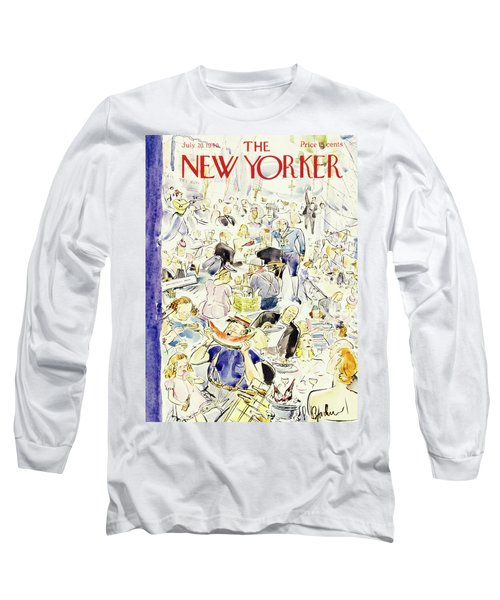 New Yorker July 20 1940 Long Sleeve T-Shirt