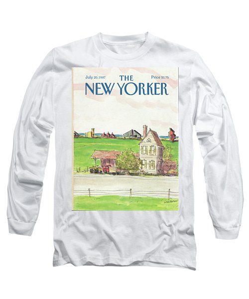 New Yorker July 20th, 1987 Long Sleeve T-Shirt