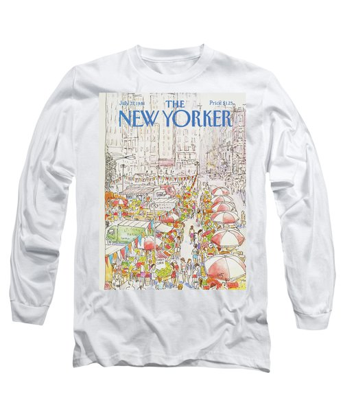 New Yorker July 27th, 1981 Long Sleeve T-Shirt