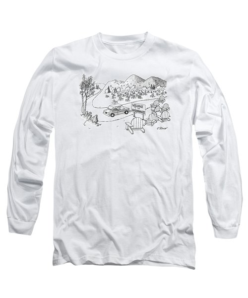 New Yorker July 4th, 1988 Long Sleeve T-Shirt