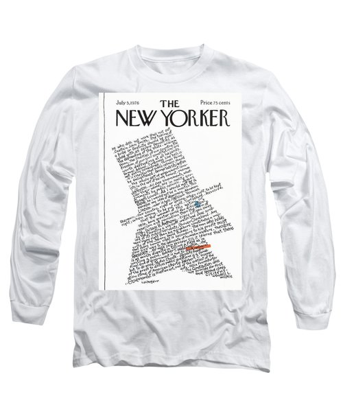 New Yorker July 5th, 1976 Long Sleeve T-Shirt