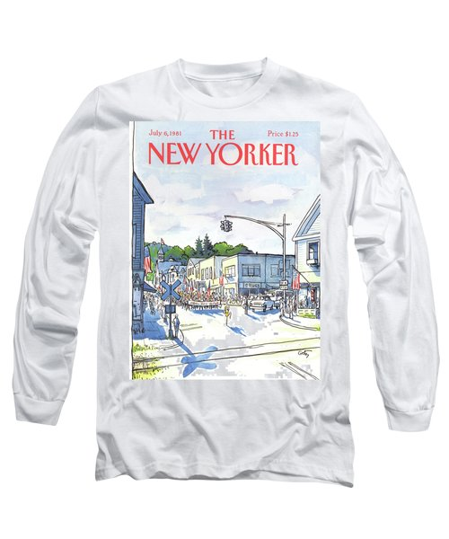New Yorker July 6th, 1981 Long Sleeve T-Shirt