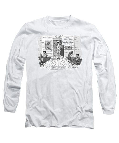 New Yorker July 7th, 1997 Long Sleeve T-Shirt