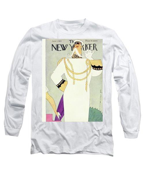 New Yorker June 1 1929 Long Sleeve T-Shirt