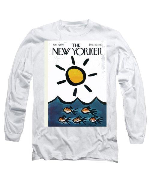 New Yorker June 10th, 1972 Long Sleeve T-Shirt