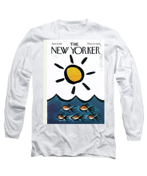 New Yorker June 10th, 1972 Long Sleeve T-Shirt