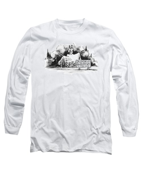 New Yorker June 13th, 1977 Long Sleeve T-Shirt