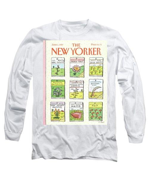 New Yorker June 1st, 1987 Long Sleeve T-Shirt