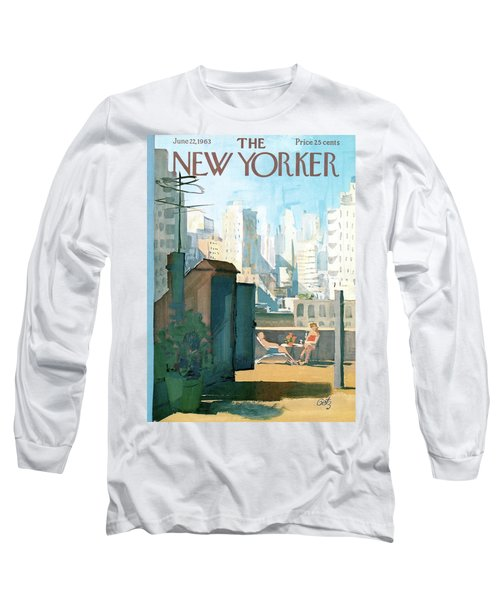New Yorker June 22nd, 1963 Long Sleeve T-Shirt