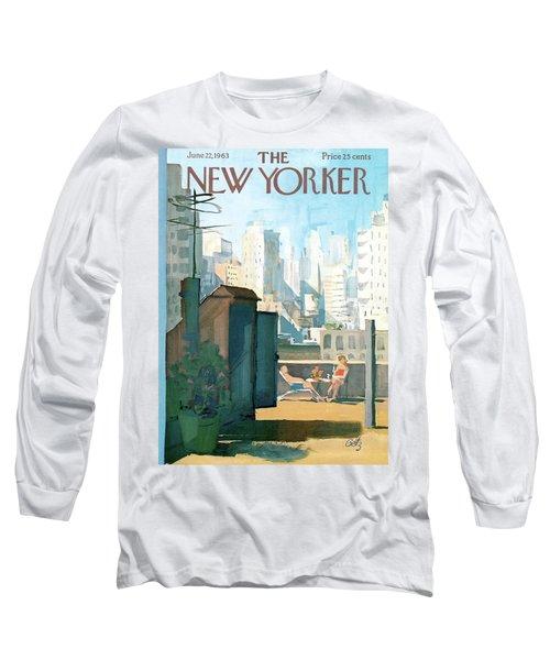 New Yorker June 22nd, 1963 Long Sleeve T-Shirt