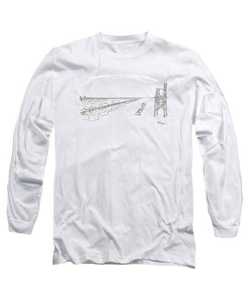 New Yorker June 22nd, 1992 Long Sleeve T-Shirt