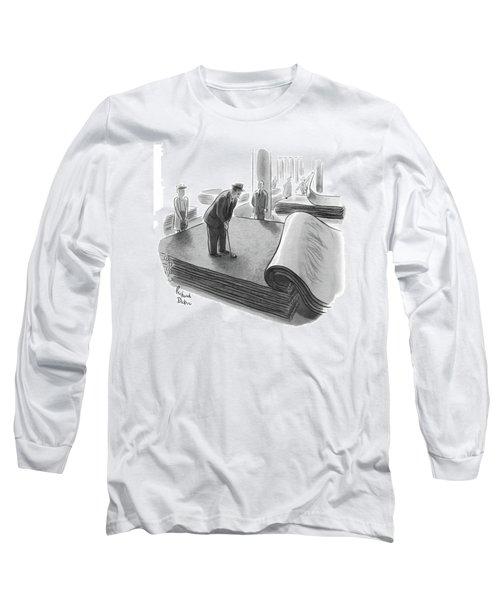 New Yorker June 25th, 1955 Long Sleeve T-Shirt