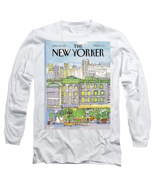 New Yorker June 25th, 1984 Long Sleeve T-Shirt