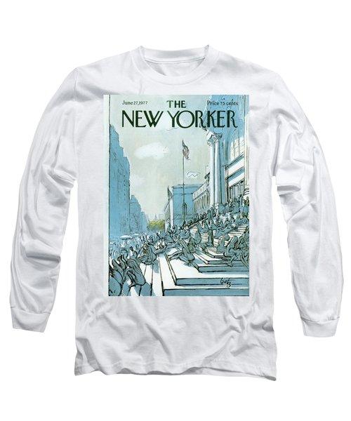 New Yorker June 27th, 1977 Long Sleeve T-Shirt