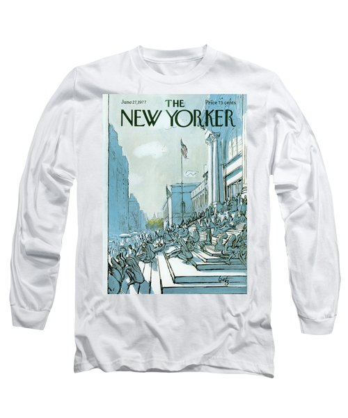 New Yorker June 27th, 1977 Long Sleeve T-Shirt