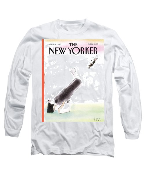 New Yorker June 4th, 1990 Long Sleeve T-Shirt