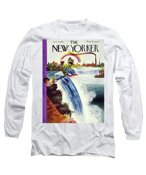 New Yorker June 8 1935 Long Sleeve T-Shirt