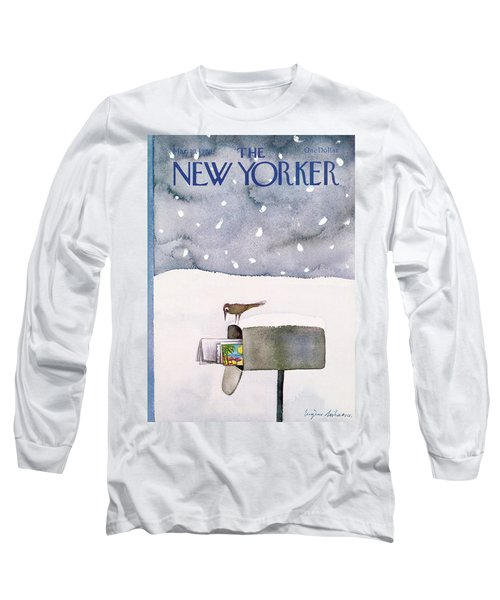 New Yorker March 10th, 1980 Long Sleeve T-Shirt