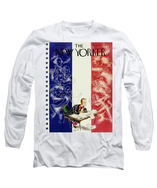 New Yorker March 13 1937 Long Sleeve T-Shirt