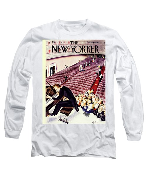 New Yorker March 21 1936 Long Sleeve T-Shirt