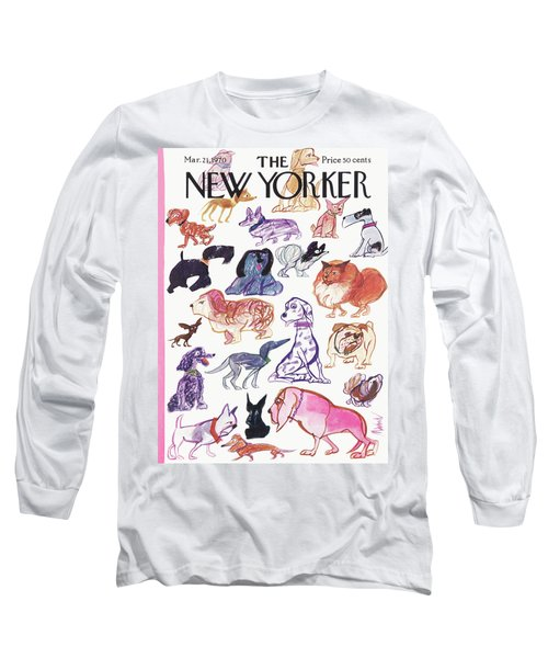 New Yorker March 21st, 1970 Long Sleeve T-Shirt