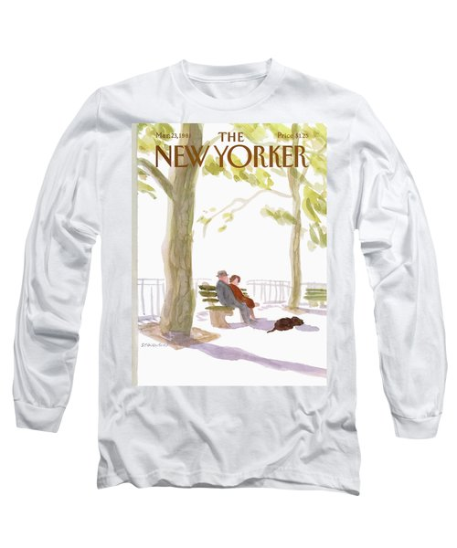 New Yorker March 23rd, 1981 Long Sleeve T-Shirt