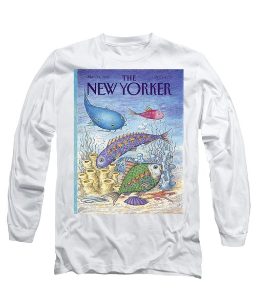 New Yorker March 23rd, 1992 Long Sleeve T-Shirt