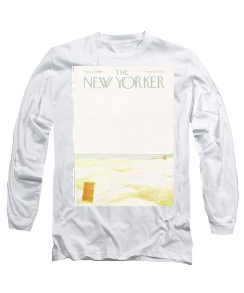 New Yorker March 27th, 1965 Long Sleeve T-Shirt