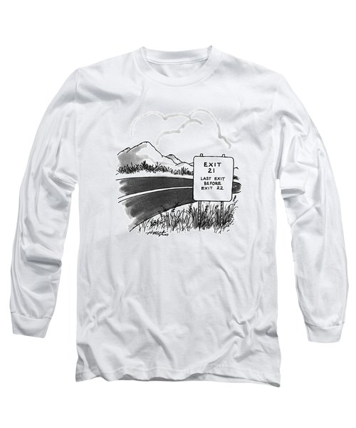 New Yorker March 27th, 1995 Long Sleeve T-Shirt
