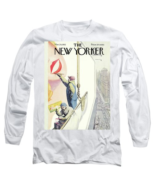 New Yorker March 29th, 1952 Long Sleeve T-Shirt