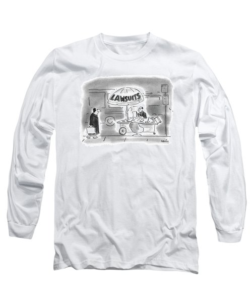 New Yorker March 29th, 1993 Long Sleeve T-Shirt
