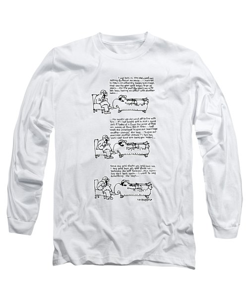 New Yorker March 31st, 1975 Long Sleeve T-Shirt