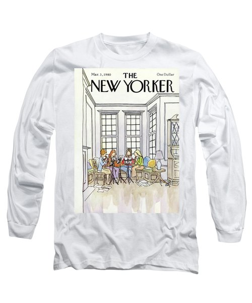 New Yorker March 3rd, 1980 Long Sleeve T-Shirt