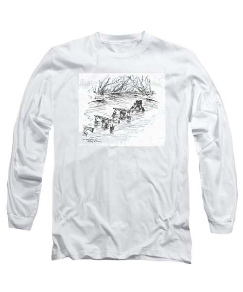 New Yorker March 6th, 1943 Long Sleeve T-Shirt