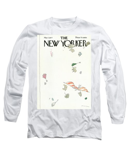 New Yorker March 7th, 1977 Long Sleeve T-Shirt