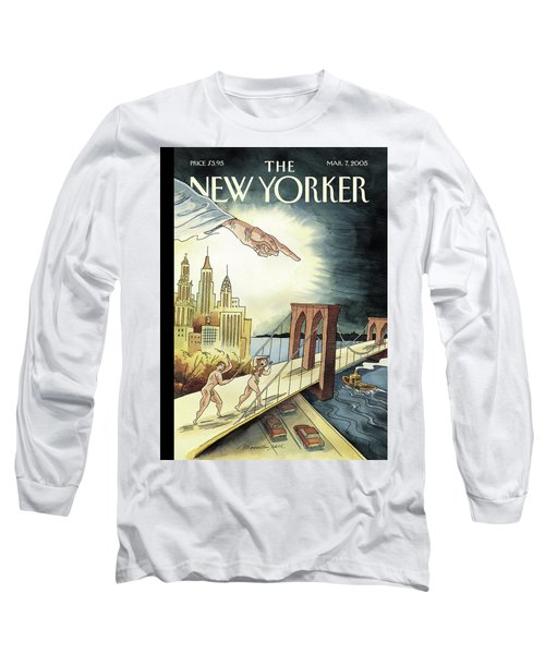 New Yorker March 7, 2005 Long Sleeve T-Shirt