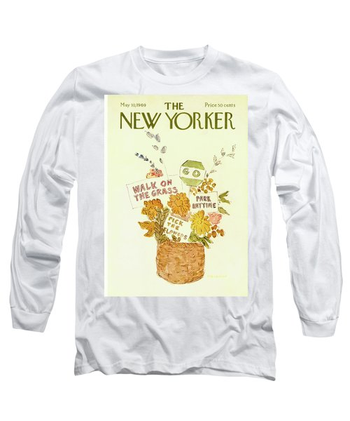 New Yorker May 10th, 1969 Long Sleeve T-Shirt