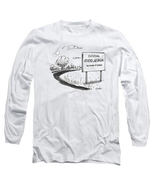 New Yorker May 11th, 1992 Long Sleeve T-Shirt
