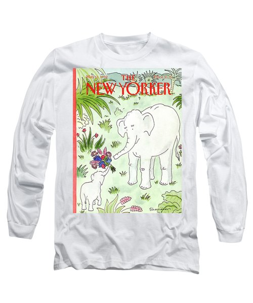 New Yorker May 11th, 1992 Long Sleeve T-Shirt