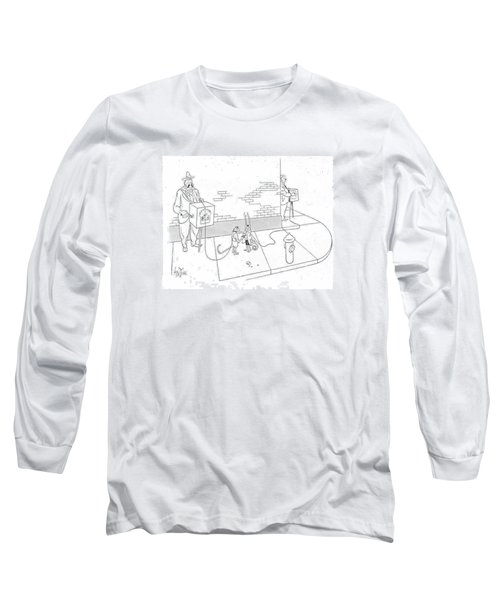 New Yorker May 22nd, 1943 Long Sleeve T-Shirt by George Price