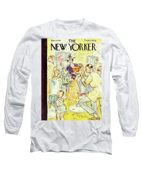 New Yorker May 23 1936 Long Sleeve T-Shirt
