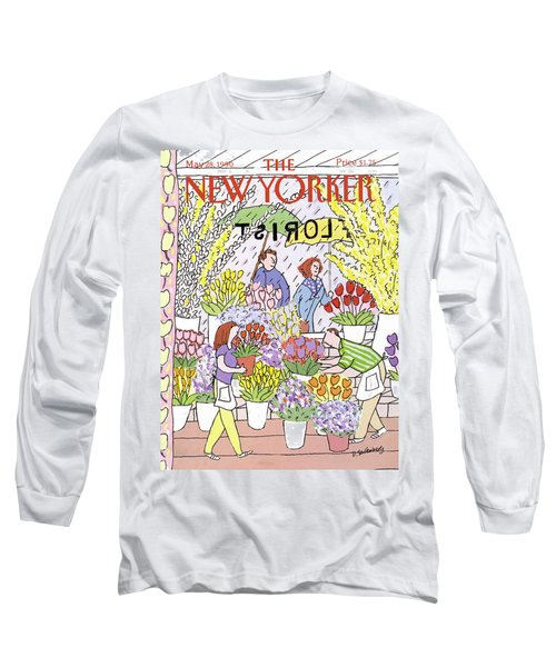 New Yorker May 28th, 1990 Long Sleeve T-Shirt