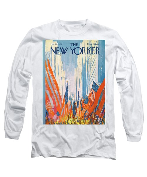 New Yorker May 29th, 1965 Long Sleeve T-Shirt