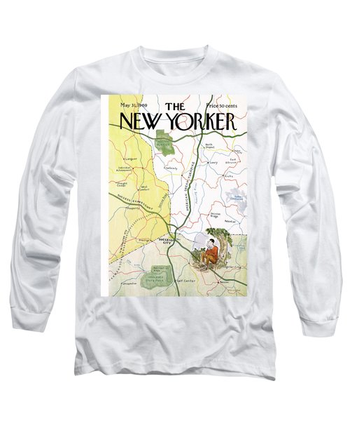 New Yorker May 31st, 1969 Long Sleeve T-Shirt