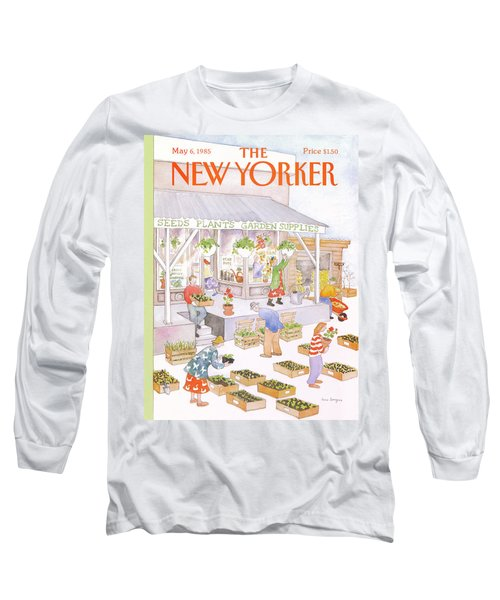 New Yorker May 6th, 1985 Long Sleeve T-Shirt
