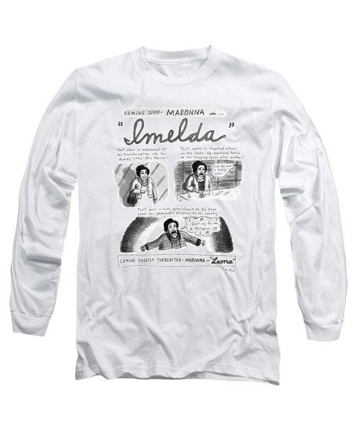 New Yorker November 11th, 1996 Long Sleeve T-Shirt