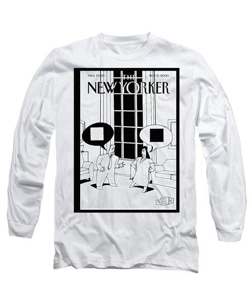 New Yorker November 13th, 2000 Long Sleeve T-Shirt